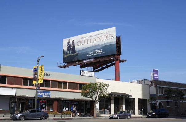 Outlander season 4 billboard