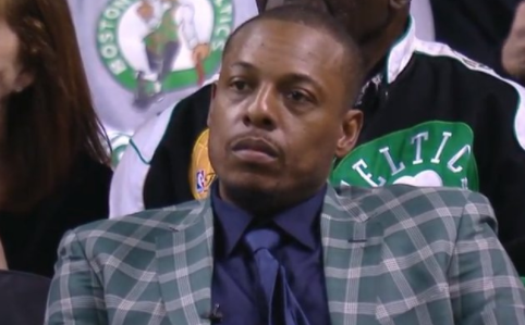 Paul Pierce retirement night spoiled by LeBron James
