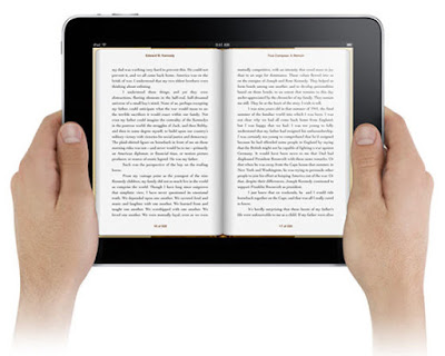 tablet membaca ebook
