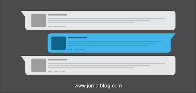 Membedakan Style Komentar Admin di Blog