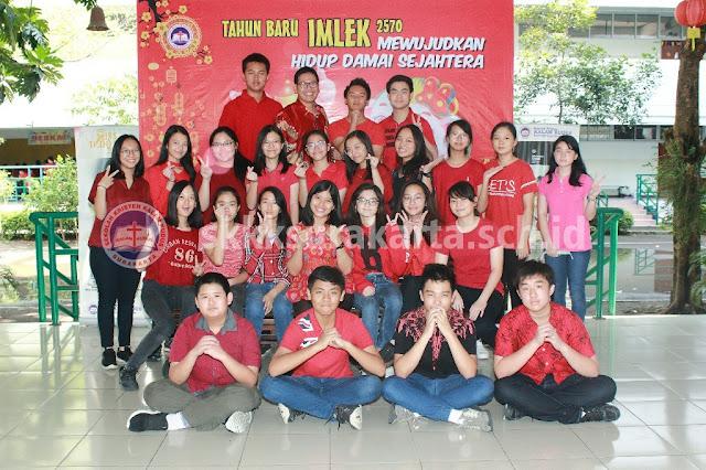Dokumentasi Kegiatan Imlek dan Valentine SMP Kristen Kalam Kudus Surakarta 2019
