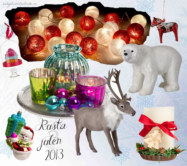 rusta jul 2013, jul, xmas, christmas, decorations, home interior