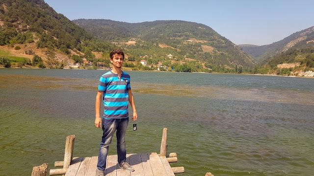 Harun İstenci Bolu Göynük'te Çubuk Gölünde