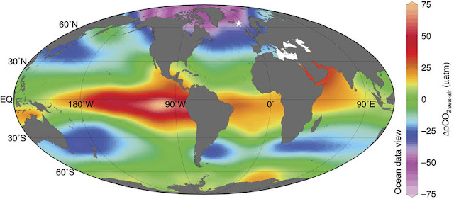 Northern oceans pumped CO2 into the atmosphere