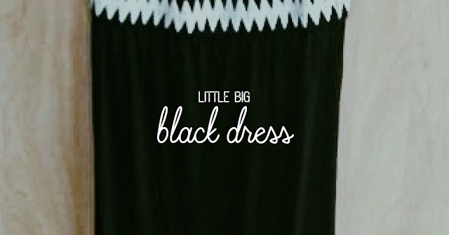 little big long black dress - 3 suisses