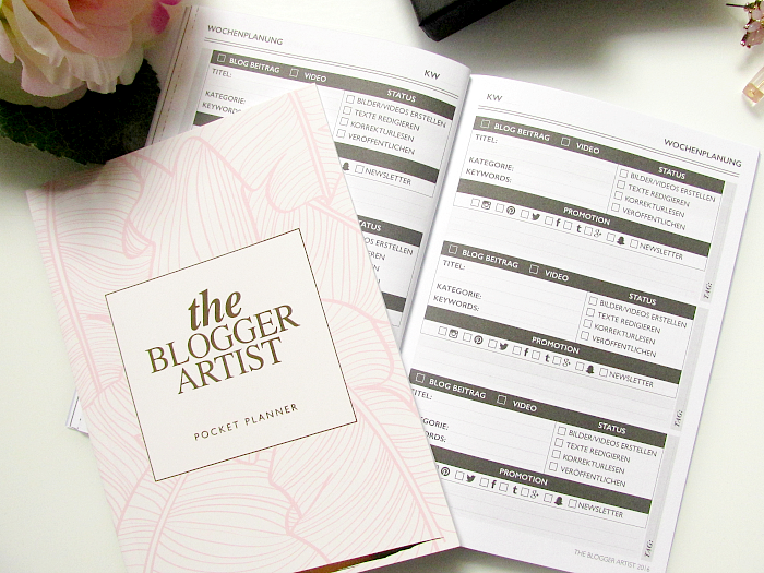 The Blogger Artist - Pocket Planner - je 8.50 €