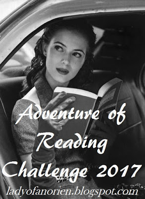 Adventure of Reading Challenge 2017! Hosted by Heidi at Along the Brandywine