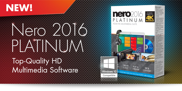 Nero 2016 Plantinum Edition 16 Free Serial Key