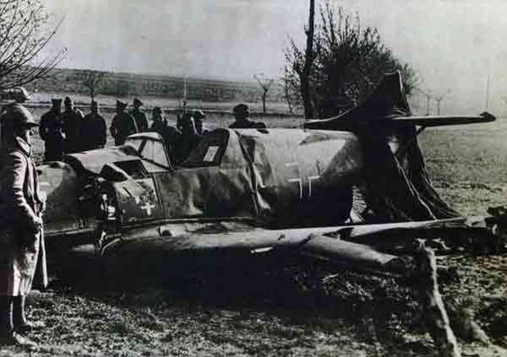 22 November 1939 worldwartwo.filminspector.com crashed Bf 109 France