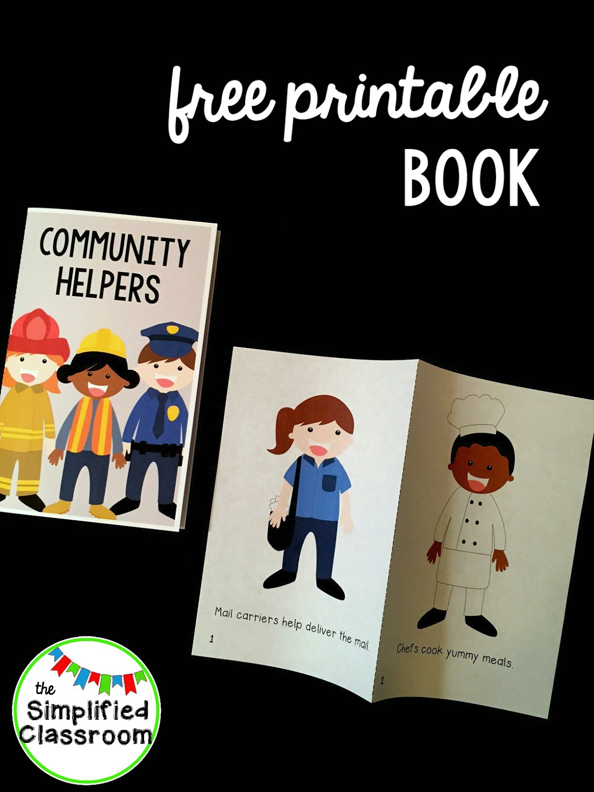 The Simplified Classroom Community Helpers Easy Reader