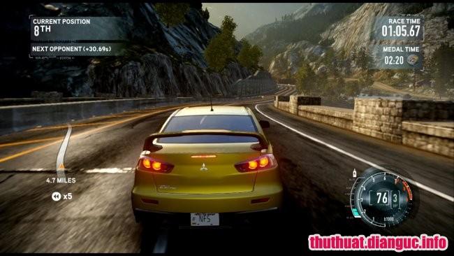 cấu hình chơi gameGame Need for Speed