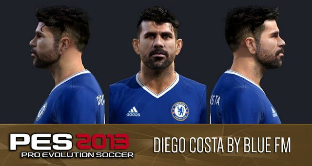 Diego Costa Face PES 2013