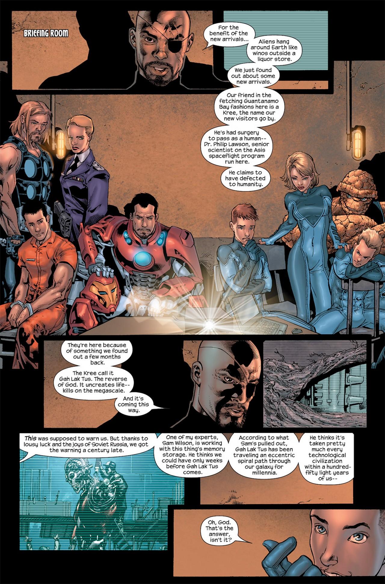 Read online Ultimate Secret comic -  Issue #3 - 5