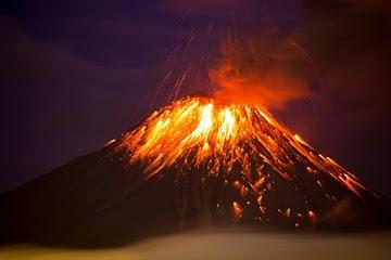 Cientistas dos globalista agora afirmam que a mudança climática faz vulcões entrarem em erupção