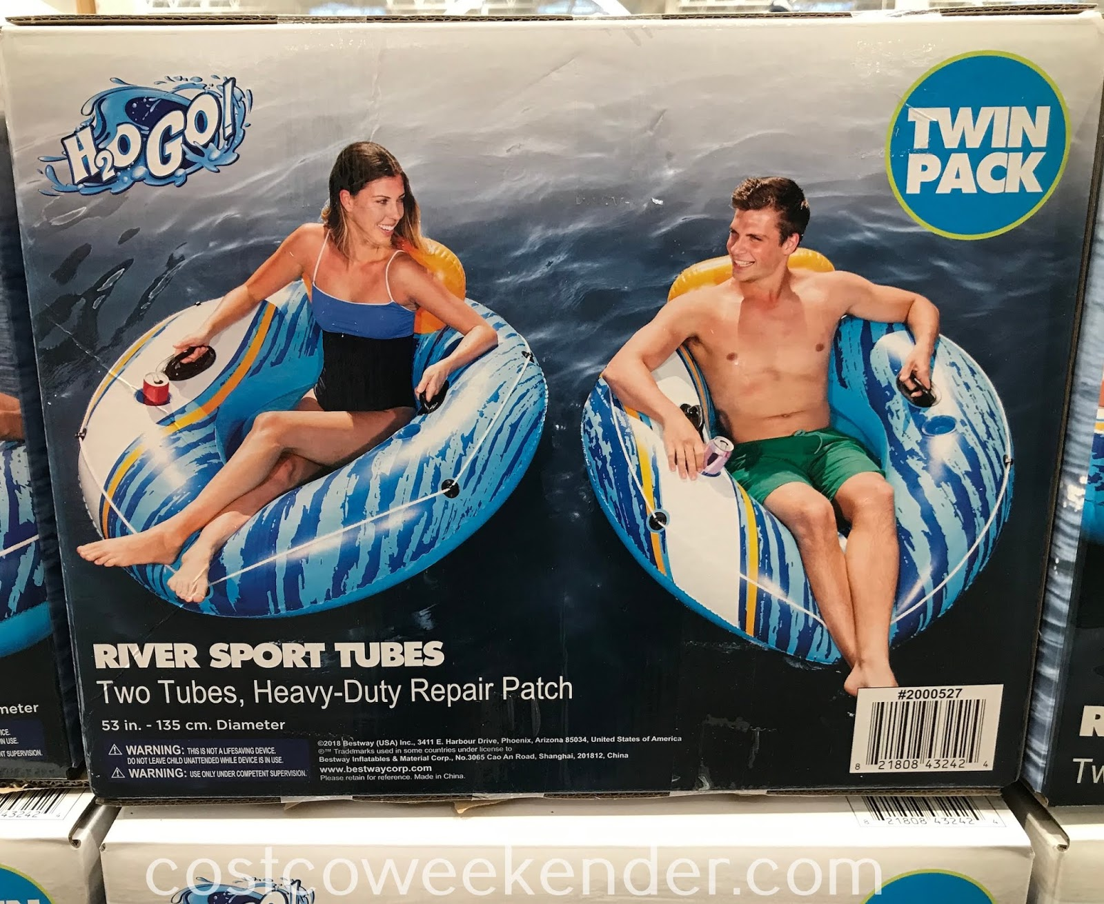 Costco 2000527 - H2O Go River Sport Tubes: great for the lake pool