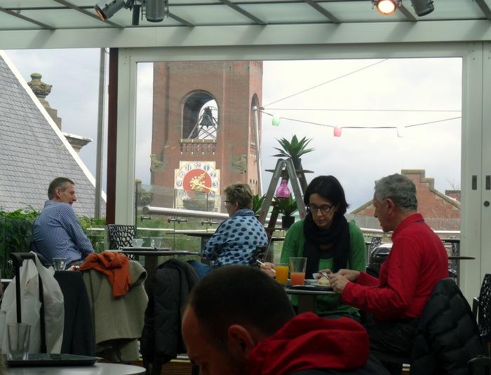 Quick Lunch at 'De Bijenkorf Kitchen' in Amsterdam | Travel