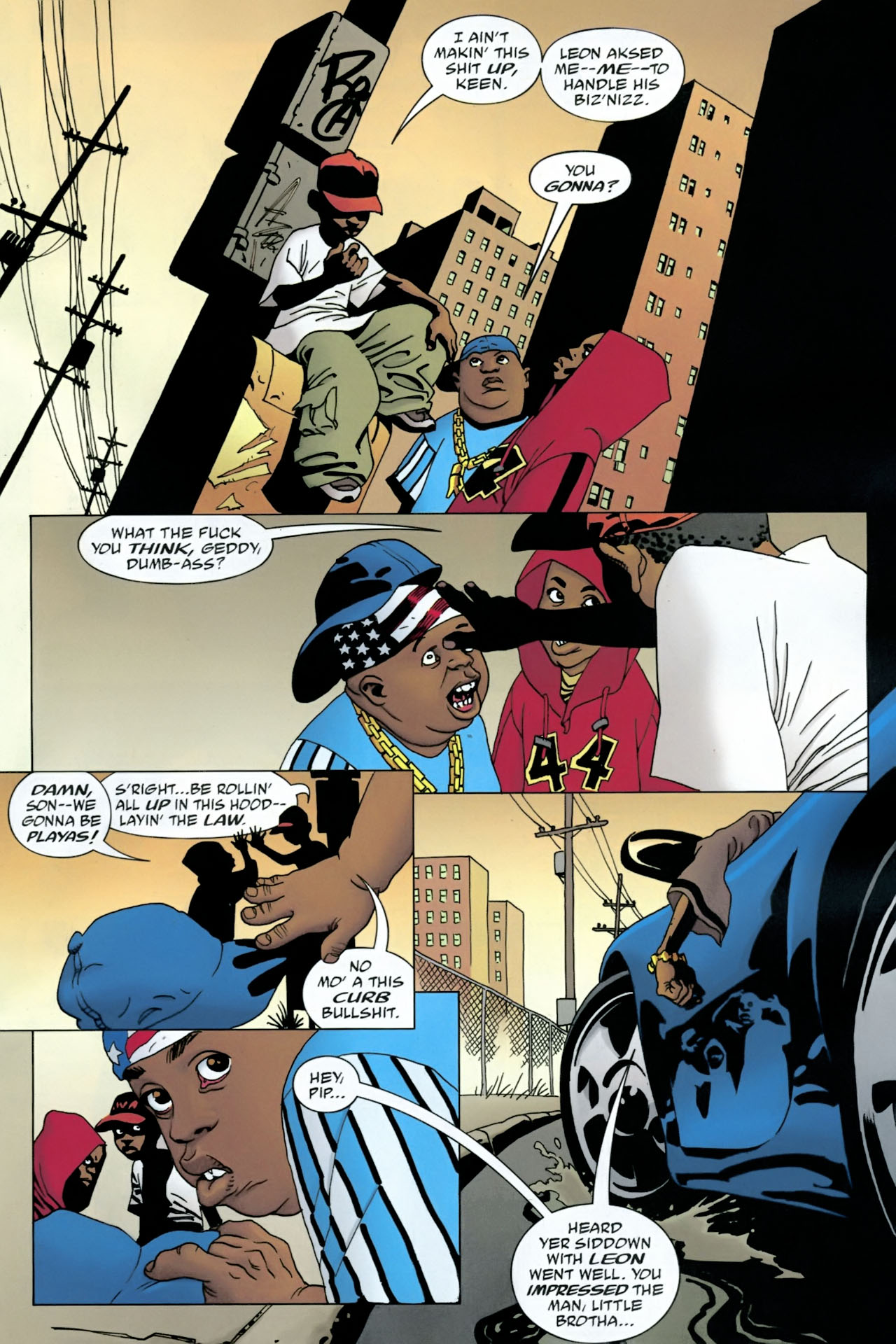 Read online 100 Bullets comic -  Issue #90 - 15