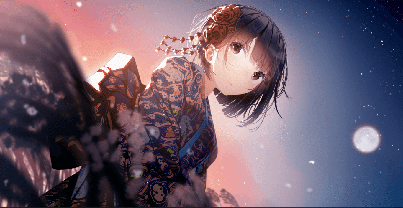 Atha(アサ)Happy 2018 💫 [Wallpaper Engine Anime]