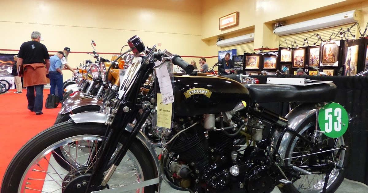 1970 Harley Davidson Evel Knievel Tribute: OldMotoDude: Vincent Road Racer For Sale At The Mecum Las