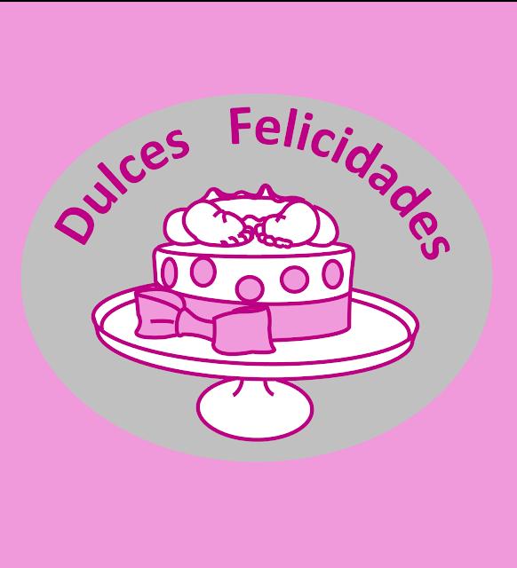 El logo de Dulces Delicidades