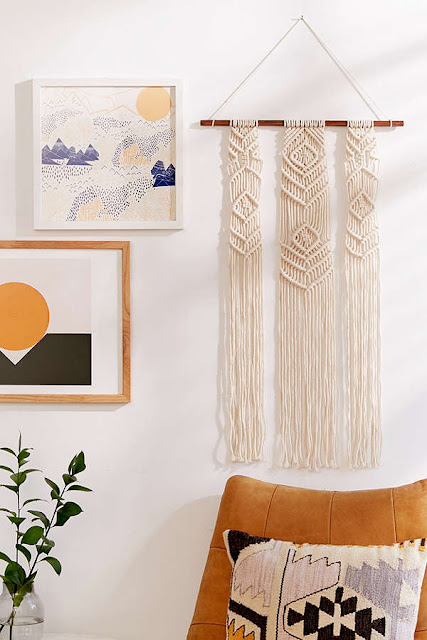 macrame and wall art