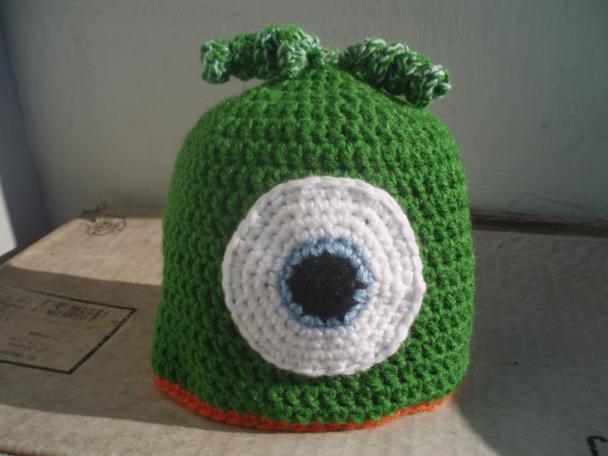 La ventana azul  37.- Gorros a crochet para niños d689b1016fc