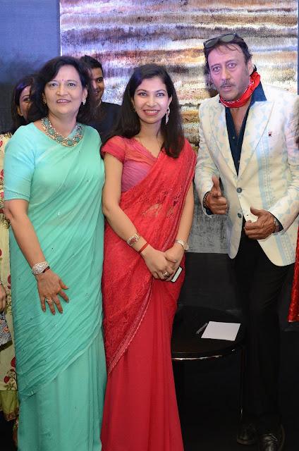 Neeta Boochra , Aanchal Sethi Chairperson, YFLO Delhi & Jackie Shroff