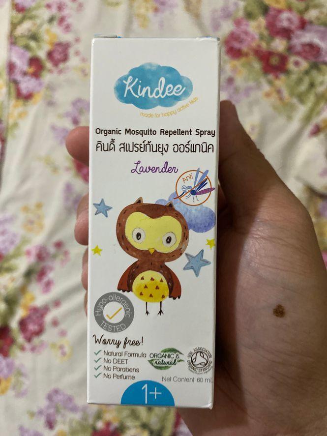 Kindee Organic Mosquito Repellant spray