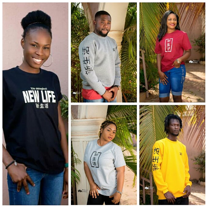 Chiif Concept Merchandise is lunching with the release of #NewLifeSeries (Xīn shēnghuó)