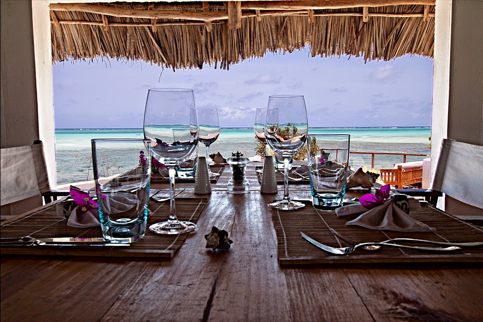 the rock restaurant zanzibar