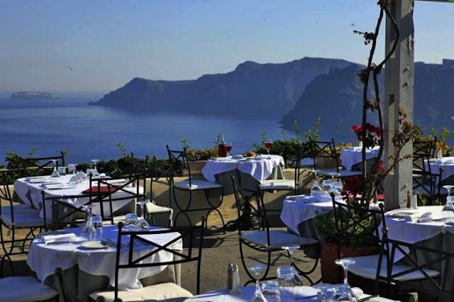 Restaurante 1800, Santorini
