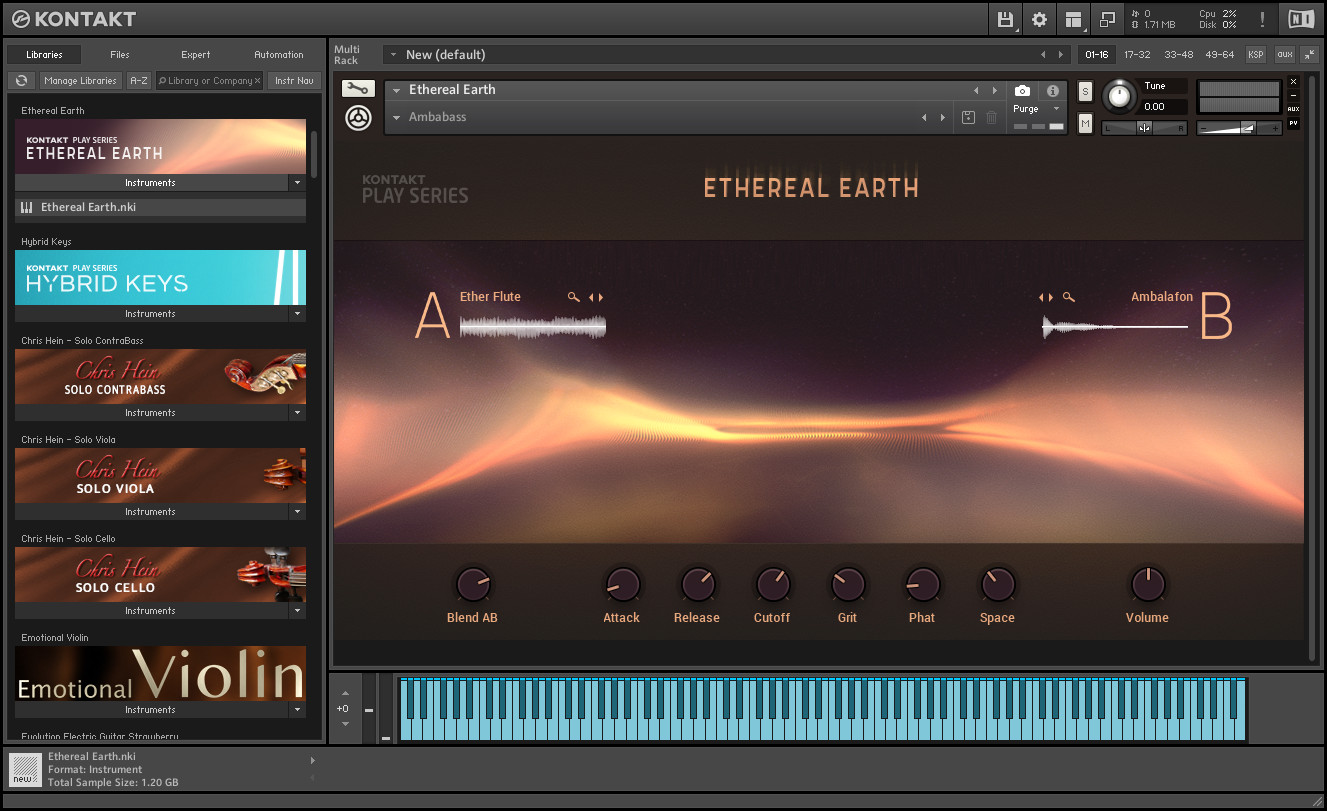 Native Instruments - Ethereal Earth KONTAKT Library