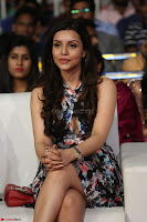 Kyra Dutta in a Deep neck Small Dress at Shamanthakamani pre release function ~  Exclusive 080.JPG