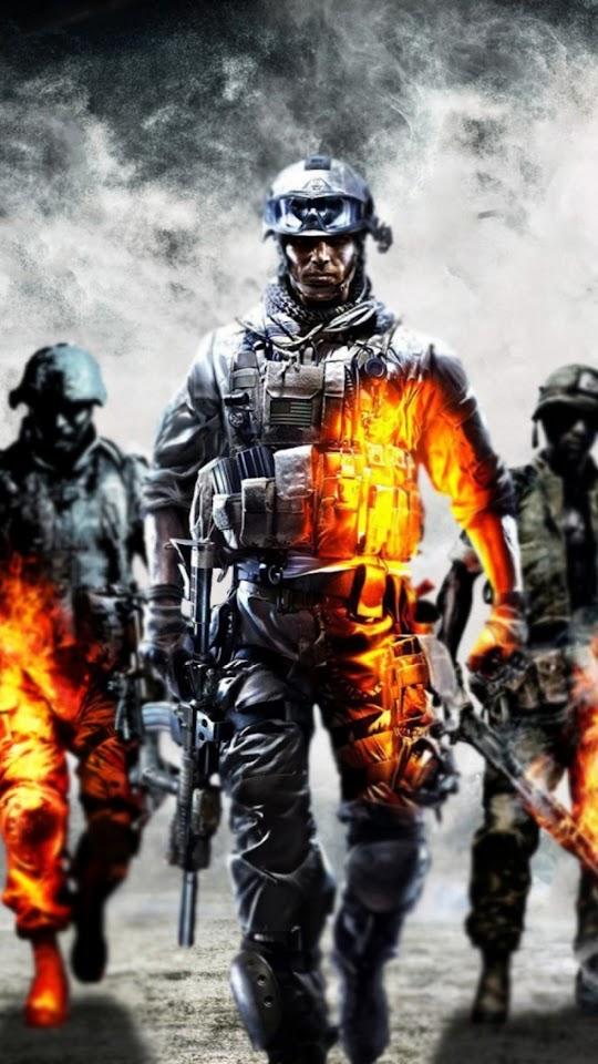 Battlefield 4 Dice Soldiers  Galaxy Note HD Wallpaper