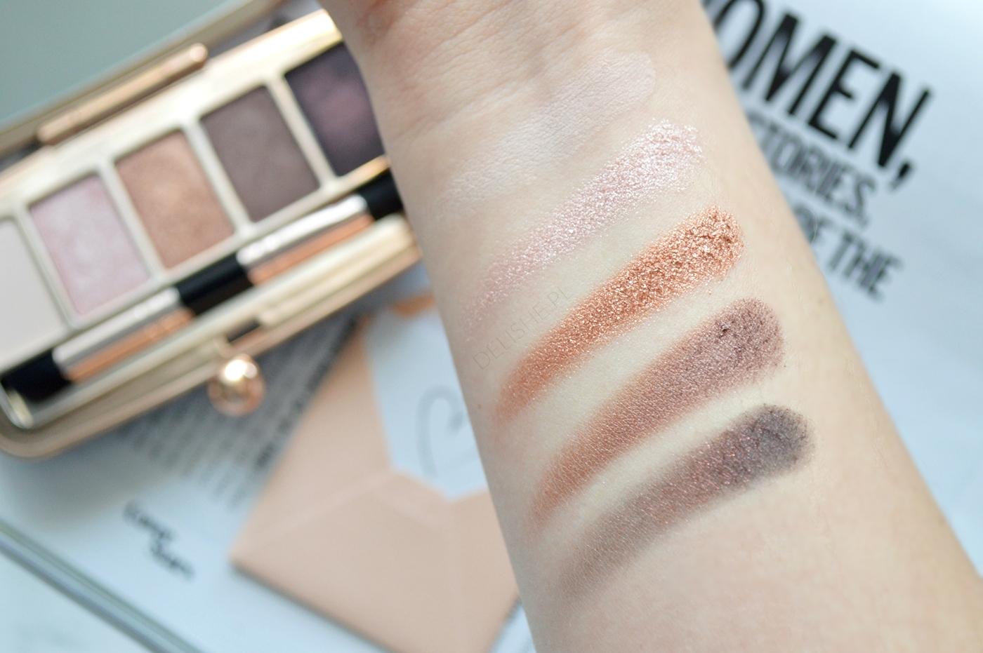 Renaissance Palette Night Makeup Revolution swatche