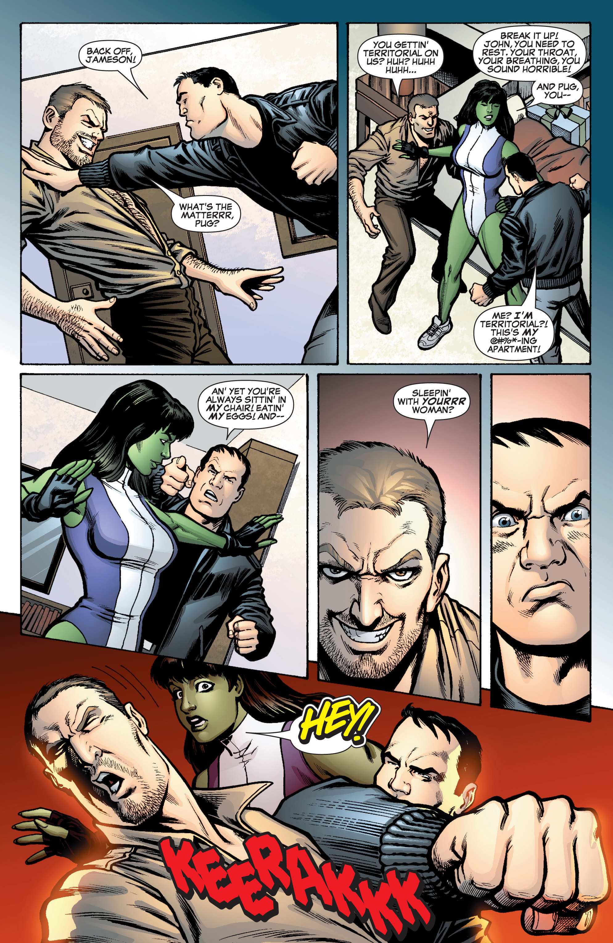 Read online She-Hulk (2005) comic -  Issue #10 - 19