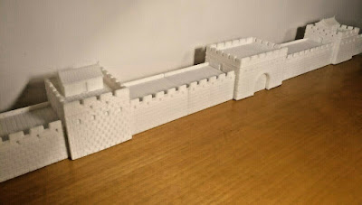 10mm Scale Ancient Great Wall of China picture 9