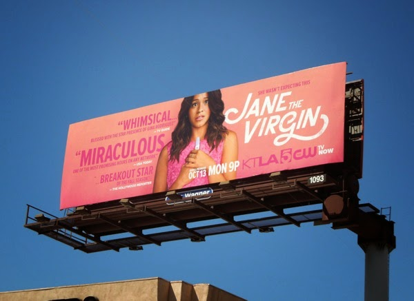 Jane The Virgin billboard
