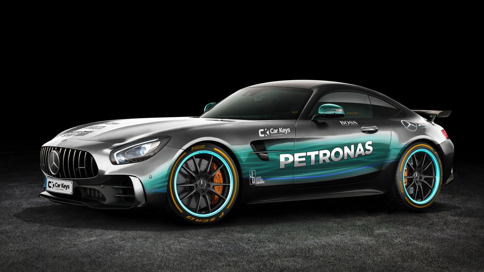 Supercars Look Strange With 2017 F1 Liveries