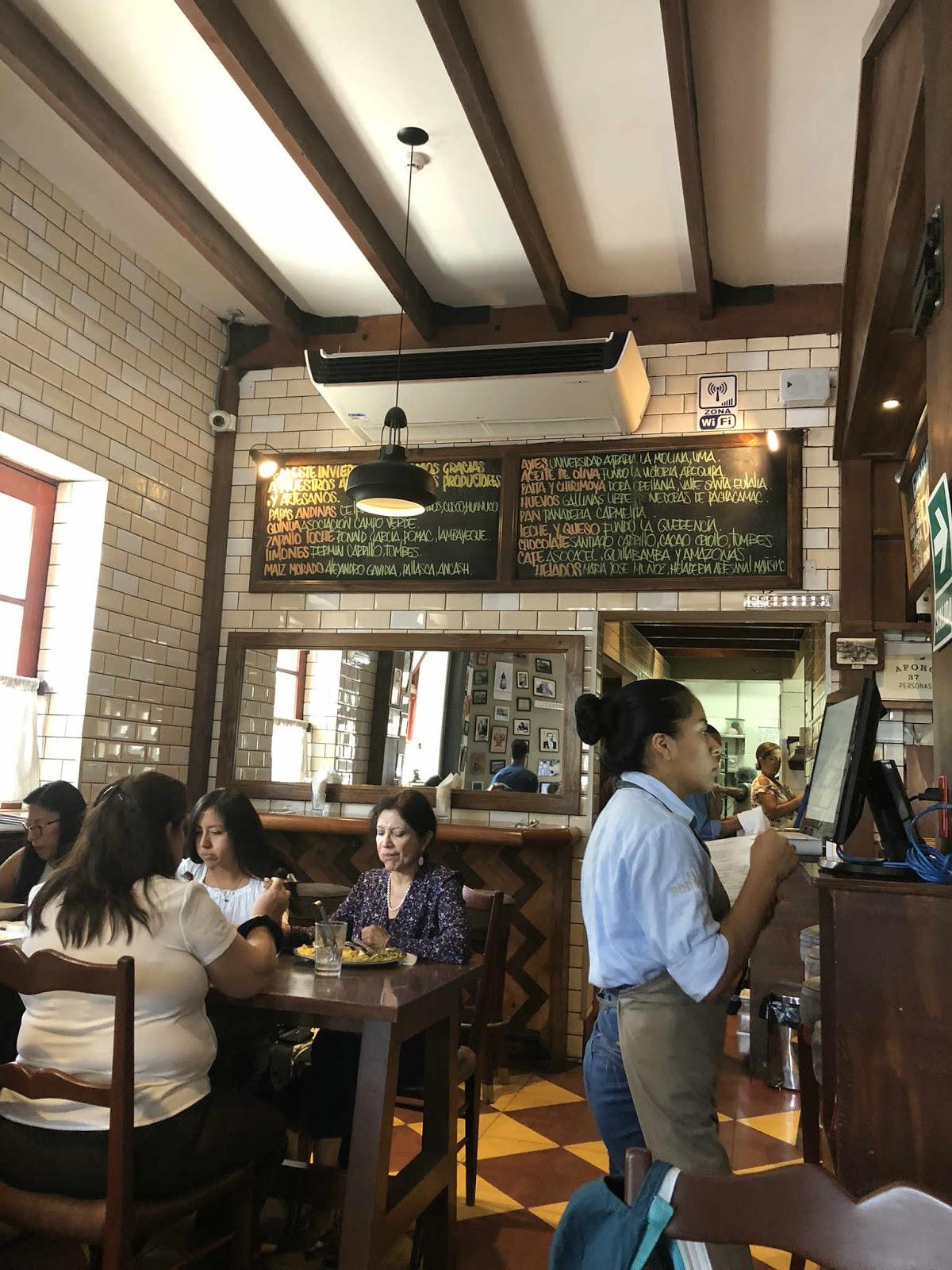 Restaurante El Bodegon Lima