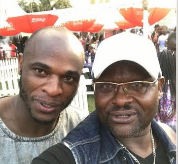Dennis Oliech with Ghost Mulee. PHOTO | SDE