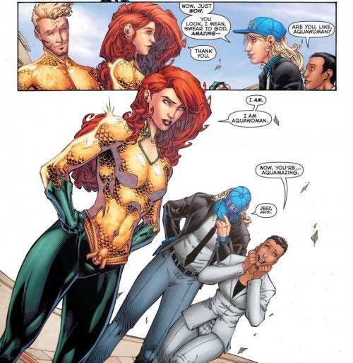 Aquawoman Mera DC Comics