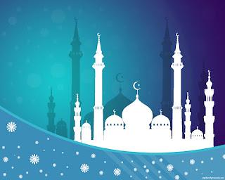 Kumpulan Desain Background Islami Terbaru, Cocok Untuk Ucapan Ramadhan