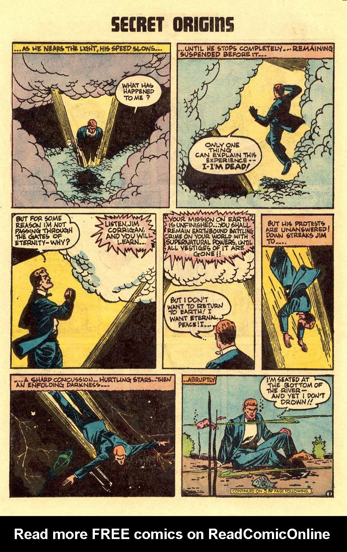Read online Secret Origins (1973) comic -  Issue #5 - 12