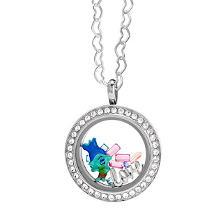 Trolls Branch Origami Owl Living Locket available at StoriedCharms.origamiowl.com
