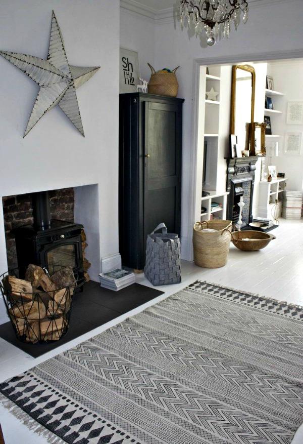 Decoraci n oto al con estrellas amish vintage home style for Doctor house decoracion