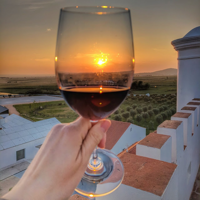 Alentejo wine tasting, photo credit: Lindsey Viscomi