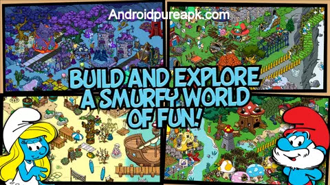Smurfs' Village Apk Download Mod
