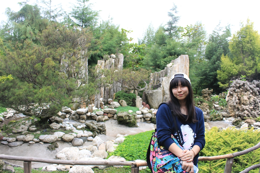 What I wore to Lembang stone garden | japobsganbare.blogspot.com
