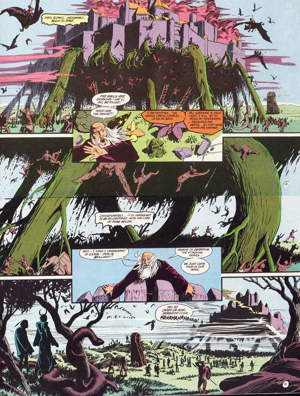 Swamp Thing (1982) Issue #87 #95 - English 9